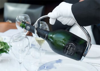 Les champagnes Laurent-Perrier...